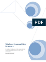 Windows Command Line Reference