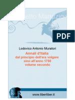 Muratori- Annali d'Italia 2