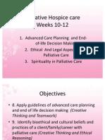 Palliative Hospice Care Wks 10-12