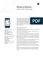 iPhone MS Exchange