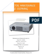 Projector Cleaning Tips Optimized