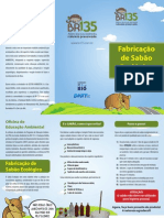 Folder Fabricação de Sabão Ecológico