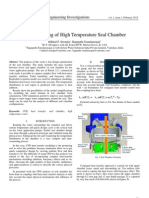 CFD Modeling of High Temperature Seal Chamber