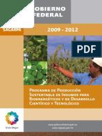Programa Produccion Sustentable Bioenergeticos PROINBIOS