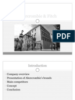 abercrombie and fitch swot analysis
