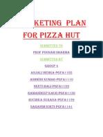Marketing Plan (Pizza Hut)
