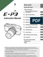 Olympus E-P3 - Instruction Manual