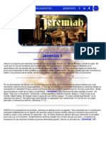 Puntos Sobresalientes ~ Jeremias 1 a 4