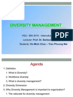 Team Diversity Management