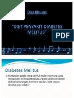 Diet Khusus - DM