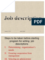 Job Description Presentation