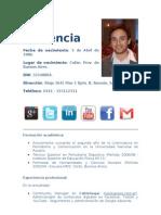 Ariel Placencia CV