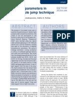 Issues_2001_Essential Parameters in Female Triple Jump Technique