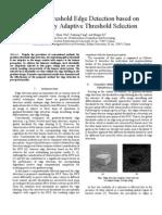 Adaptive Threshold Selection