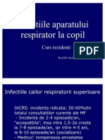 Infectiile aparatului resoirator