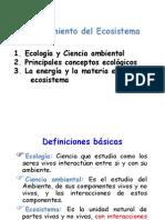Unidad 2. Aspectos Generales Del Funcionamiento de Los Ecosistemas