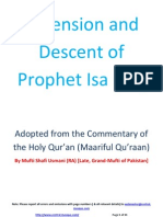 Ascension and Descent of Prophet Isa (AS)