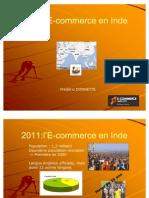 E Commerce in India 2011