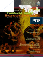 Boletín informativo [N° 1] Proyección social, extensión universitaria - UNSCH