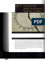 Case 4 Ford and the World Automobile Industry in 2009
