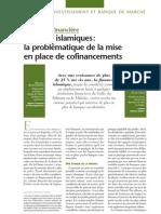 Banques Islamiques Et Cofinancements