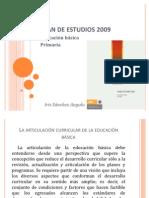Plan de Estudios 2009