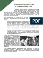 Ángel C. Colmenares E. - ANTECEDENTES SOCIO-POLÍTICOS DEL 04F