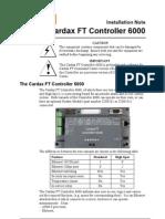 Cardax Ft Controller 6000pdf