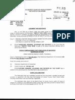 Timothy Paul Keim CF-2007-00132 Judgment and Sentence