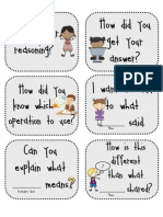 Math Talk Questions for Students
