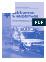 Quality Improvement for Pre Hospital Providers