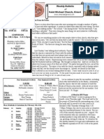 St. Michael's February 5, 2012 Bulletin