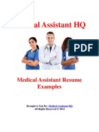 documents similar to medical assistant cover letter samples