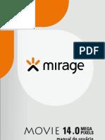 Manual Filmadora - Mirage 14 Mega Pixels
