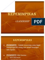 MATERI KEPEMIMPINAN
