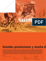 Shimano Catalog Spanish Spa 2008 Consumer MTB