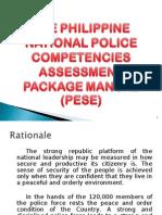 Police Exec Service Examination (PESE)