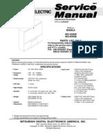 Mitsubishi Ws-55908 65908 Ch v17 3plus Parts-list