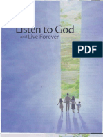 Listen to God and live forever