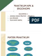 PRAKTIKUM APK & ERGONOMI