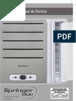 Ar Condicionado Springer Duo - Manual de Serviço