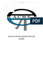 Advanced Product Quality Planning (A.C.M.E)