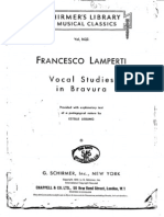 Studies in Bravura - Lamperti Ed Liebling