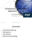 Introduction to Ethical Web Application Hacking