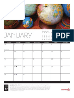 Calendar 2012 Collections Ltr Monthly Enus