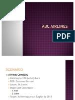 Airline Balance Scorecard