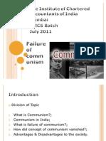 Failure of Communism