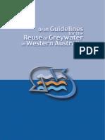 Hp8122 Greywater Reuse Draft Guidelines