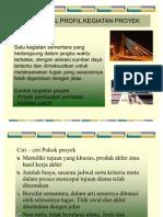 Mengenal Profil Kegiatan Proyek
