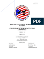 Jas - Avionics Architecture Definition Appendix